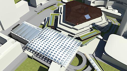 """""""Donausegel"""" wird neues Wiener Landmark: Austria Center Vienna stellt sein Modernisierungskonzept für 2022 vor"""