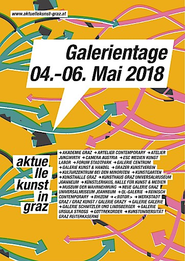 Galerientage 2018 – aktuelle kunst in graz
