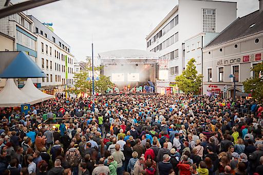 5.000 Besucher pro Konzert am MusikfestiWels