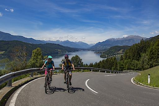 Obermillstätter Panoramatour: Die perfekte Runde, um auszutesten, was ein E-Bike alles leisten kann.