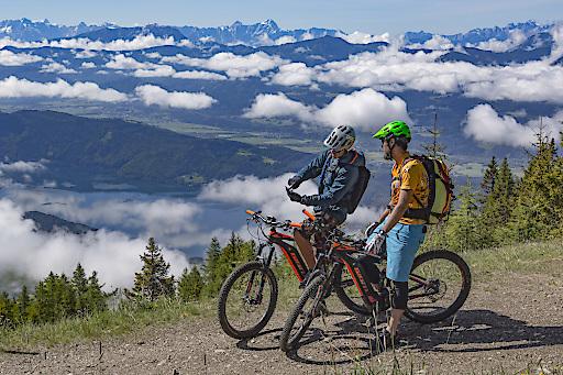 Millstätter Alm Panorama-Tour: See und Berg zeigen sich in voller Pracht.