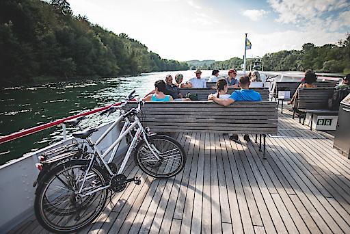 Fahrradselbstverlad in der Schweiz
