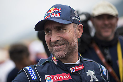 Stephane Peterhansel (FRA) of Team Peugeot Total races during stage 13 of Rally Dakar 2018 from San Juan to Cordoba, Argentina on January 19, 2018 // Marcelo Maragni/Red Bull Content Pool // AP-1UGNF187D2111 // Usage for editorial use only // Please go to www.redbullcontentpool.com for further information. //