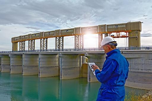 Energie aus Wasserkraft