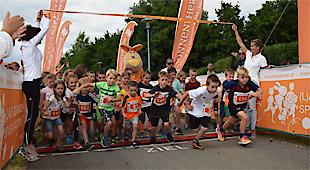 Kleine & große Spitzenathleten beim 2. Sonnentherme Family Run in Lutzmannsburg am Start!