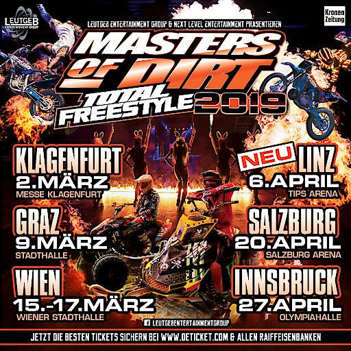 Masters of Dirt - 06. April 2019 - TIPS Arena Linz