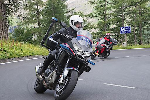 Motorrad-Sicherheitstag mit der Polizei auf der Großglockner Hochalpenstraße