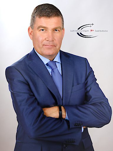 Dieter Pammer, Head of Airline Marketing & Touroperator Management des South Bohemia Airport