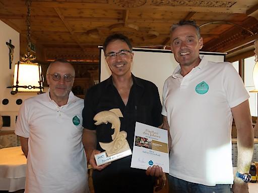 Karl Baldauf, Arthur Gottschalk & Robert Baldauf (v.l.)