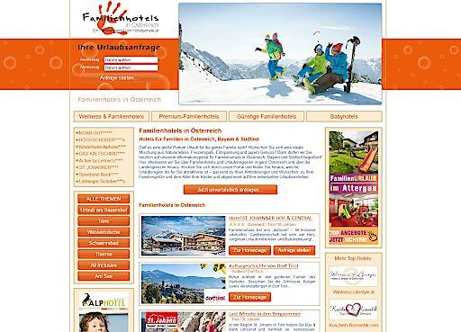 Portal für Familienbetriebe - Familienhotels in Österreich