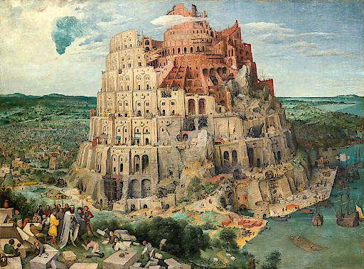 Turmbau zu Babel, Pieter Bruegel d. Ä., 1563