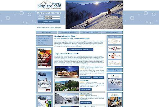 Skipiste-Hotels.com - das Hotelportal für Hotels direkt an den Skipisten