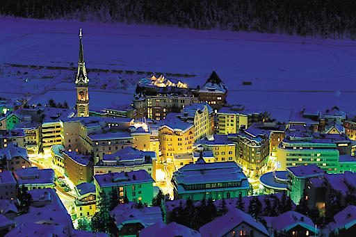 ENGADIN ST. MORITZ - St.Moritz im Engadin zählt zu den berühmtesten Wintersportorten der Welt.