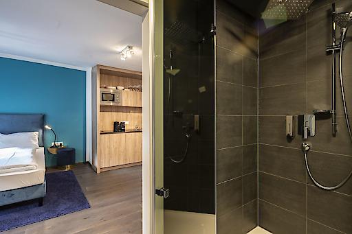 Bild b l ackhome city apartments hotels oberhauser for Stylische hotels