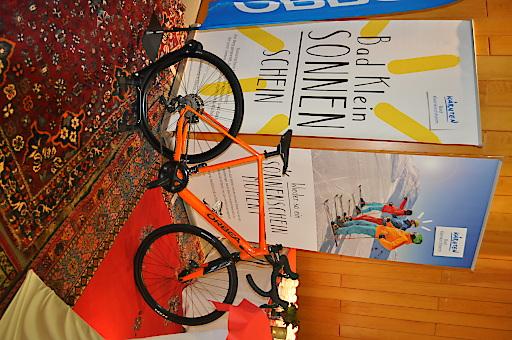"Fahrrad des neuen ""Roadbike Holidays"" Partners ""Orbea"""