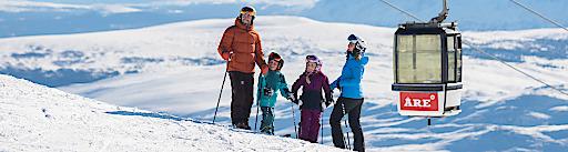 """Vom 4.-17. Februar 2019 finden in Åre die Alpinen Skiweltmeisterschaften statt. Weiterer Text über ots und www.presseportal.de/nr/73551 / Die Verwendung dieses Bildes ist für redaktionelle Zwecke honorarfrei. Veröffentlichung bitte unter Quellenangabe: """"obs/SkiStar AB (publ.)"""""""