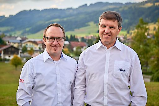 Markus Wagner (li.) und Michael Keller (re.) vom TVB Tannheimer Tal.