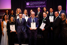 Bild zu And the Winner is - siebte Auflage des Connoisseur Circle Hospitality Awards.