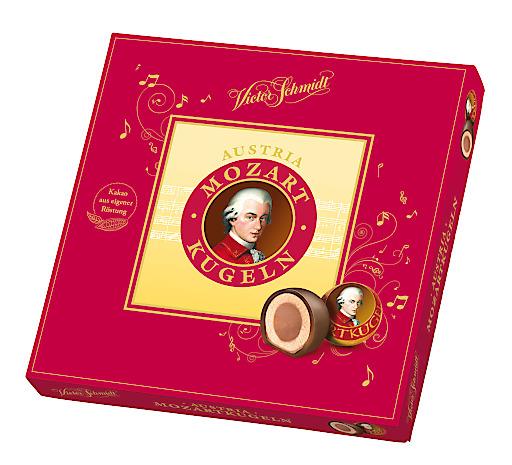 15er Geschenkverpackung Victor Schmidt Mozartkugeln