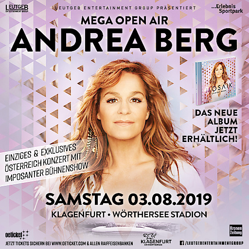 Andrea Berg - Pressefoto - 03.08.2019