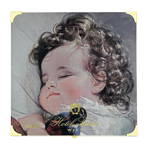 """Sacher Artists' Collection 2019 mit dem """"Porträt der Prinzessin Marie Franziska von Liechtenstein (1834–1909) im Alter von zwei Jahren"""" von Friedrich von Amerling aus dem Jahre 1836 © LIECHTENSTEIN. The Princely Collections, Vaduz–Vienna"""