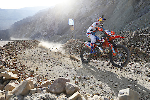 Jonny Walker contests the Prologue at Erzbergrodeo, Austria on June 1, 2018 // Future7Media / Red Bull Content Pool // AP-1VUJZEQMS2111 // Usage for editorial use only // Please go to www.redbullcontentpool.com for further information. //