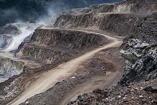 High Speed Action am Erzbergrodeo Blakläder Iron Road Prolog