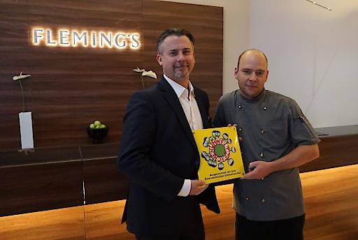 Hoteldirektor Martin Sperl und Küchenchef Andre Reuther