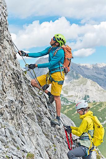 Der Frühling ist da und zieht Bergsportler zu ersten Aktivitäten ins Gelände.