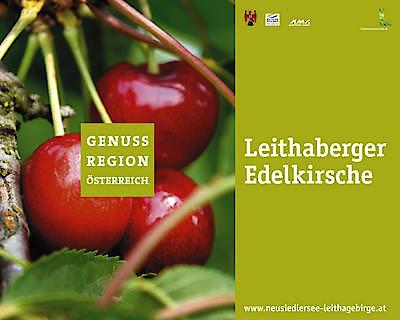 Logo - Genuss Region Leithaberge Edelkirsche