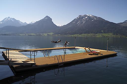Sommerfreuden im ganzjährig beheiztem Seebad