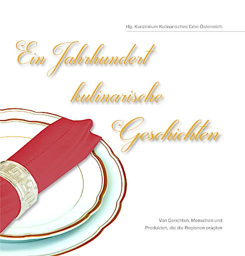 """Buchcover """"Ein Jahrhundert kulinarische Geschichten"""""""
