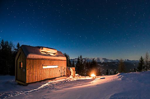 Im Biwak unter den Sternen – die Zeit zu zweit genießen