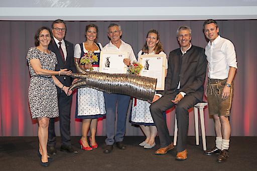Verleihung des Tirol Touristica für TVB Wilder Kaiser