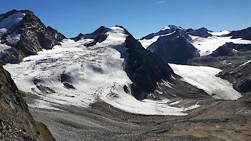 """Naturschutzverbände fordern Integration des Linken Fernerkogel in das angrenzende Ruhegebiet """"Ötztaler Alpen""""."""
