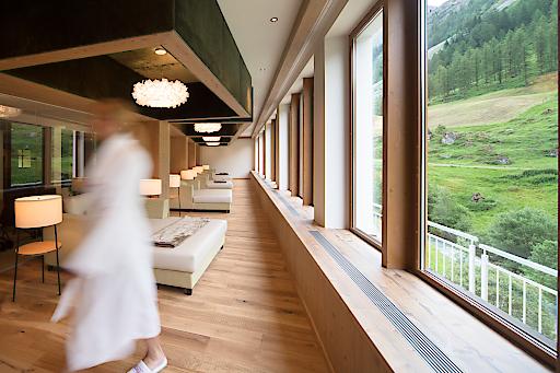 Wellnessbereich - Hotel Alpenhof Hintertux