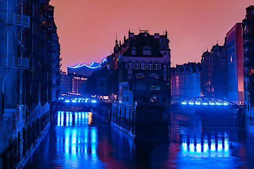 """Blue Port 2017 - Speicherstadt, Copyright www.mediaserver.hamburg.de / Christian Lietzmann. Weiterer Text über ots und www.presseportal.de/nr/75051 / Die Verwendung dieses Bildes ist für redaktionelle Zwecke honorarfrei. Veröffentlichung bitte unter Quellenangabe: """"obs/Hamburg Marketing GmbH/www.mediaserver.hamburg.de/ Jan Schugardt"""""""