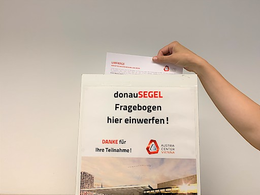 Einreichung donauSEGEL-Umfrage
