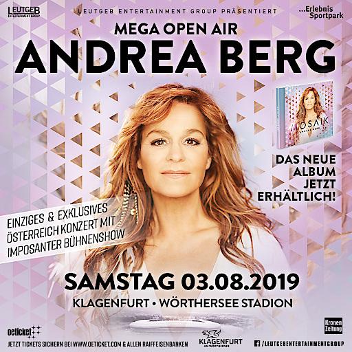 Andrea Berg Klagenfurt MEGA Open Air