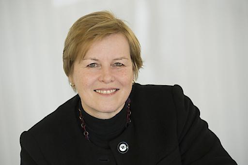Vorständin Barbara Schenk kann mit dem abgelaufenen HOGAST-Wirtschaftsjahr mehr als zufrieden sein.