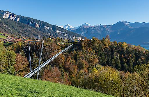 Interlaken - Panoramahängebrücke Sigriswil