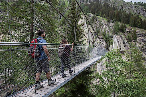 Hängebrücke Aspi-Titter