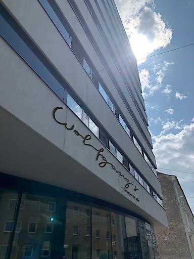 Für die Gestaltung der Fassade konnte das renommierte Architekturbüro Wagner gewonnen werden.