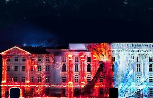Lightshow Mount Magic in Innsbruck - Die Entstehung der Alpen erleben