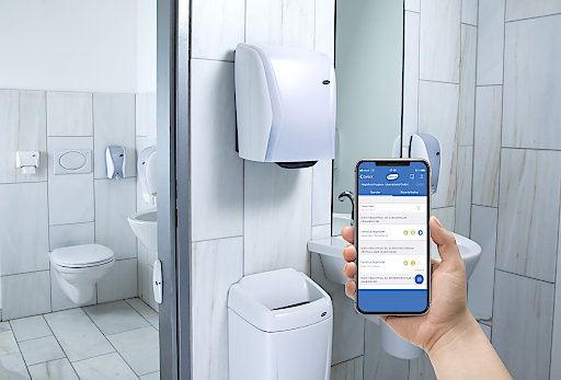 Tor ins Digital-WC ist eine App, ein Spender nach dem anderen wird hiermit zugänglich.