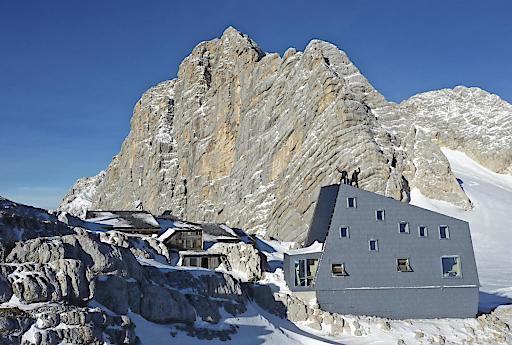 Seethaler Hütte (2.740 m), am Dachstein (OÖ)