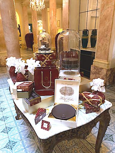 Pop-Up-Café Sacher Genf im Hotel Beau-Rivage Genève