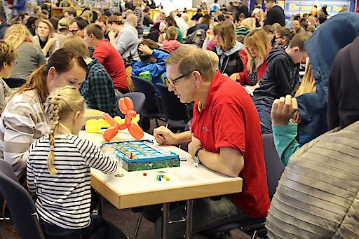 Spielen am Spielefest