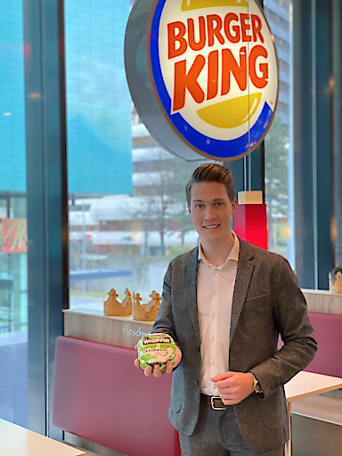 Marketingleiter BURGER KING - MSc. Jan-Christoph Küster
