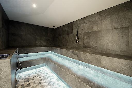 Spa Antermoia – Entspannung auf 700 Quadratmetern.